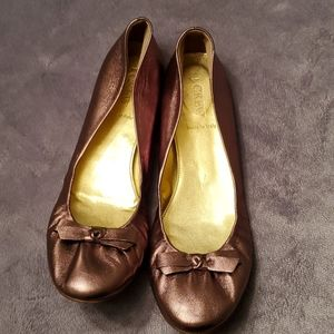 J. Crew flats made in Italy 🇮🇹